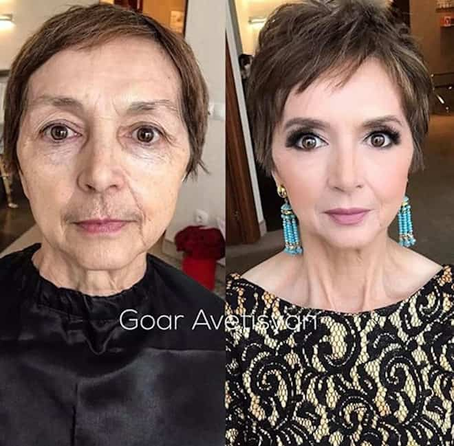 the most mind-blowing mature beauty transformations by goar avetisyan 9