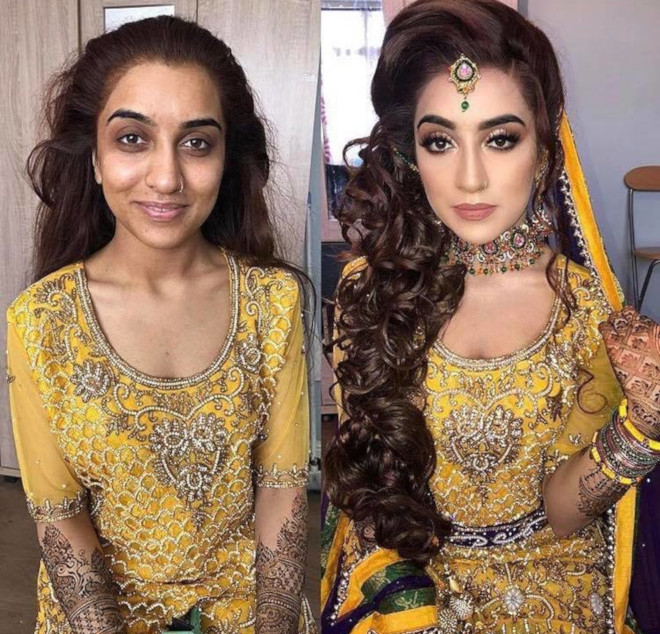 bridal beauty transformations 3