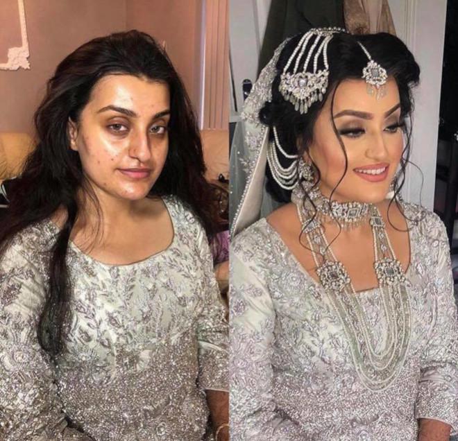 bridal beauty transformations