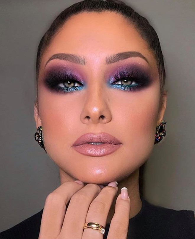 cool toned makeup looks for summer