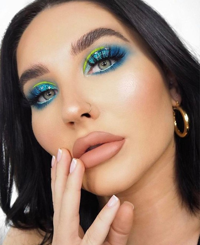 cool toned makeup looks for summer 3