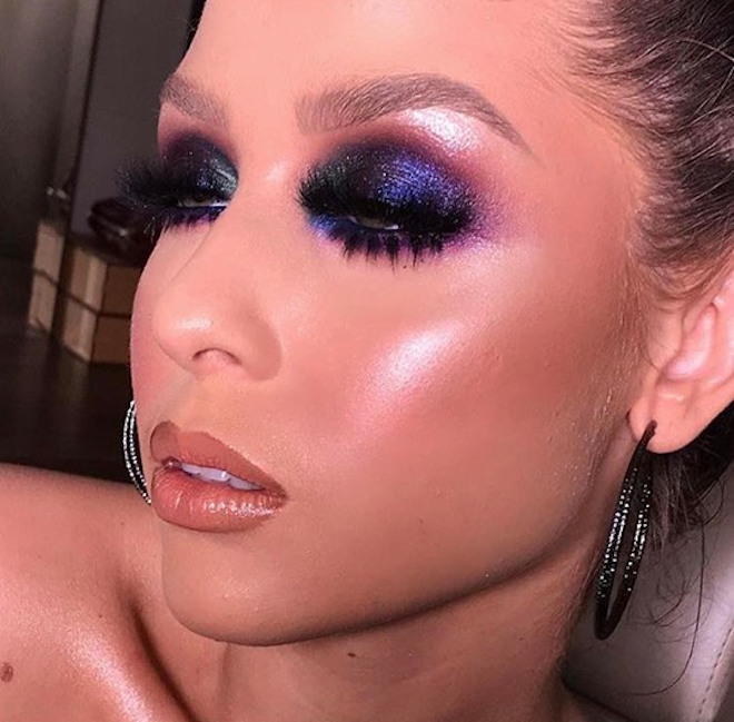 cool toned makeup looks for summer 6