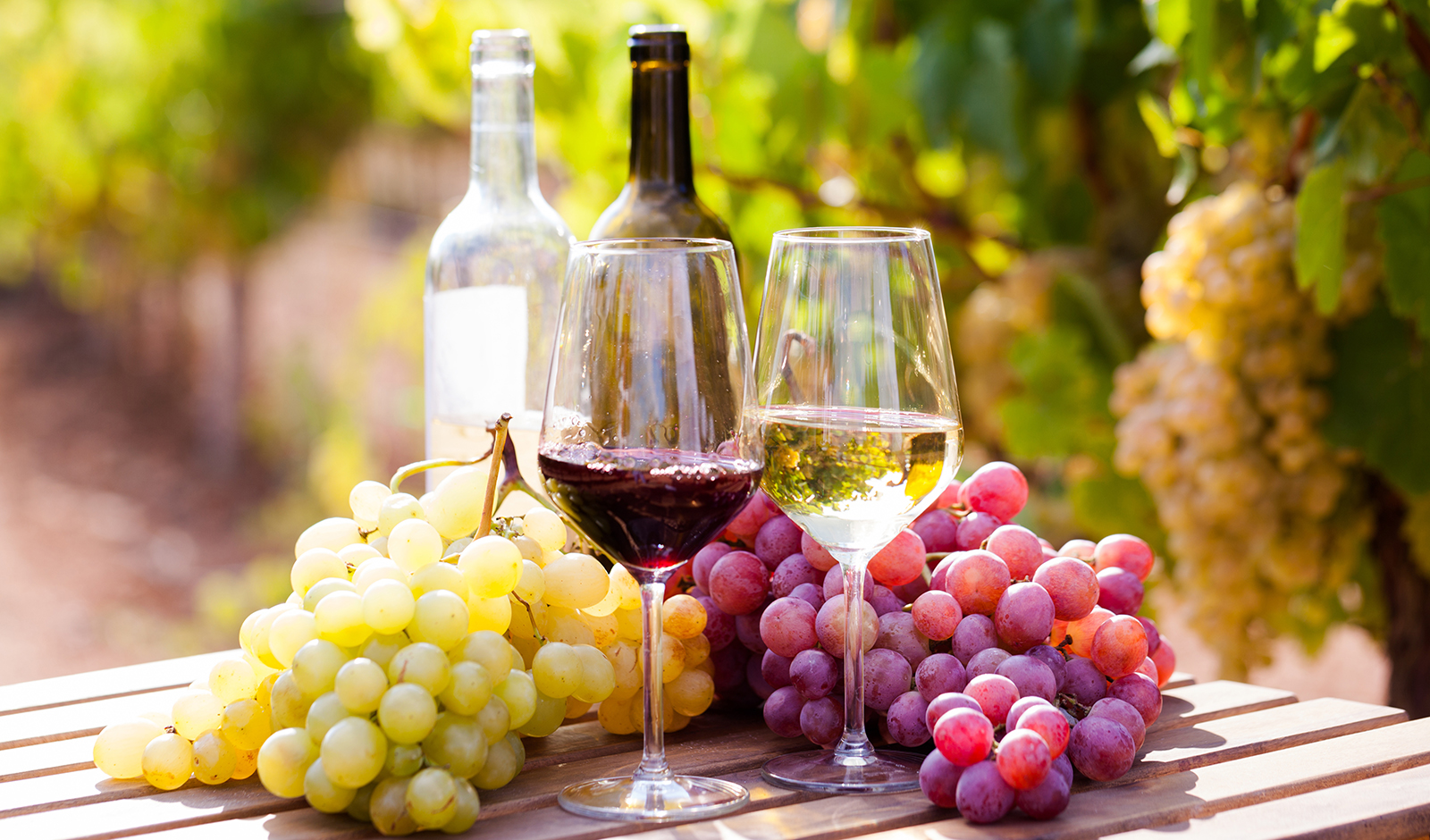 red-wine-vs-white-wine-what-is-the-difference-main-image-wine-and-grapes-outside