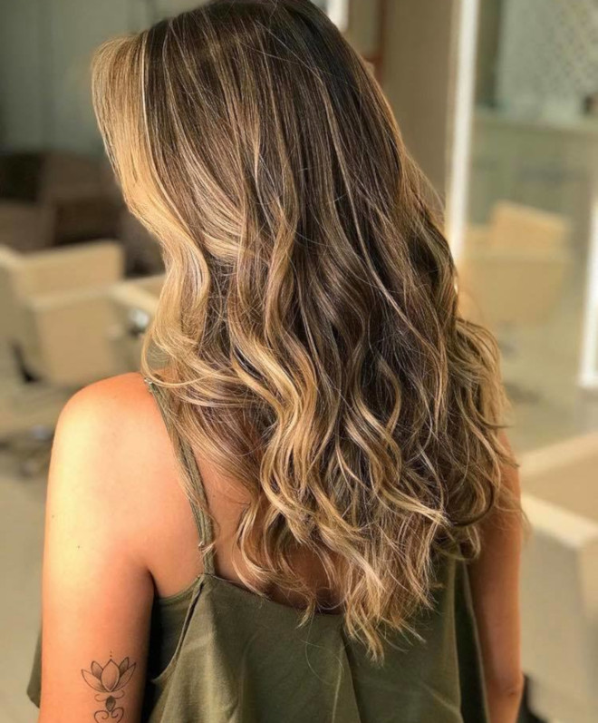 smoky gold hair colors for summer 2