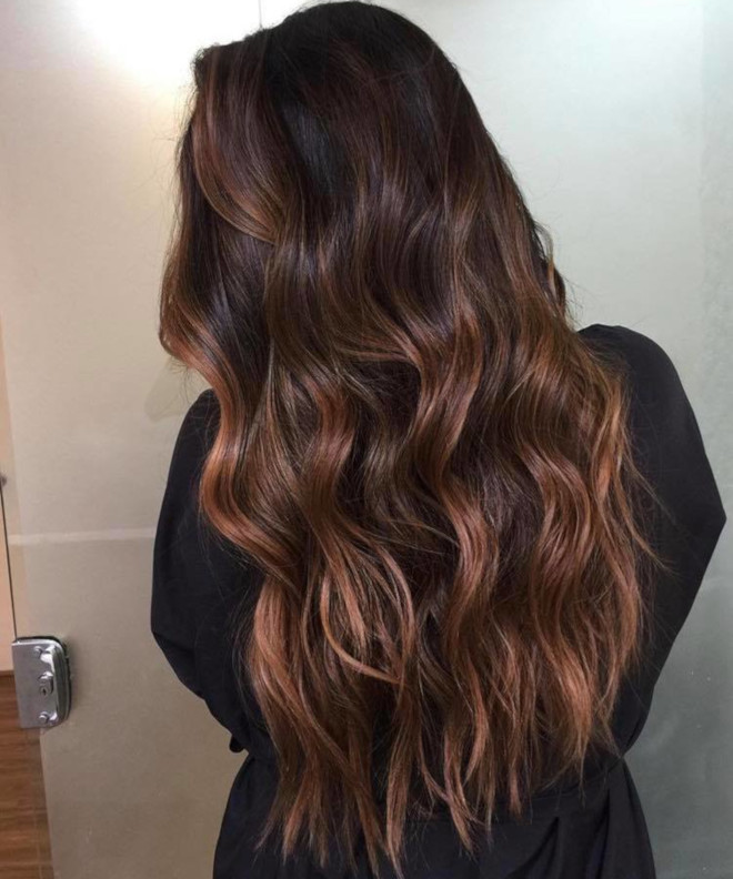 smoky gold hair colors for summer 8