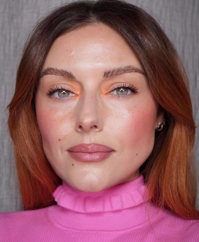 accented blush trend 2