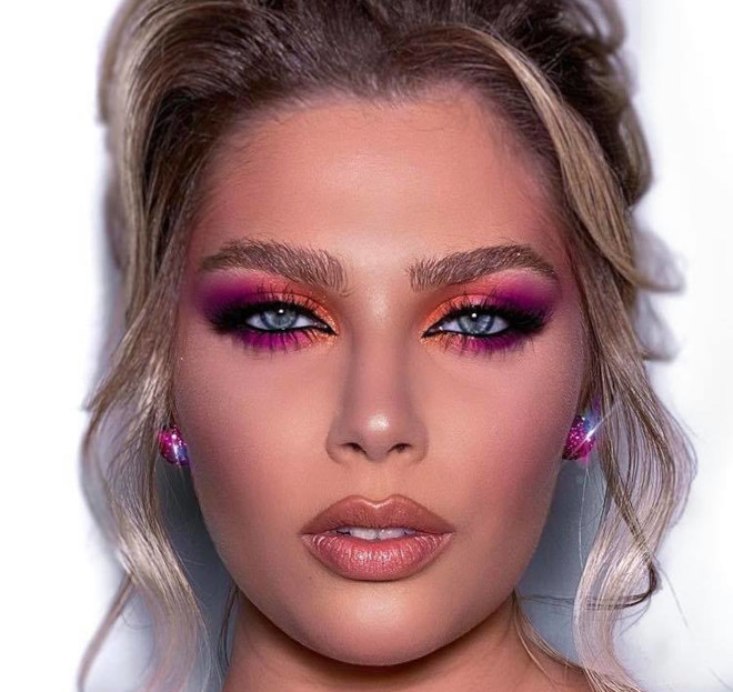 sunset eyeshadow makeup looks for summer 1