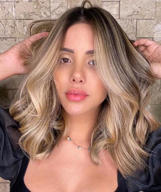 undone blonde hair trend