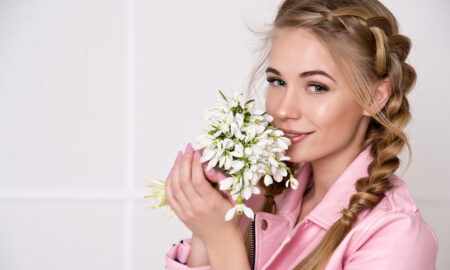 ake-sure-your-makeup-is-really-cruelty-free-smiling-happy-girl-with-flowers-in-makeup