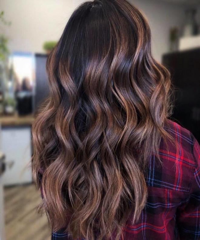 black espresso hair color trend
