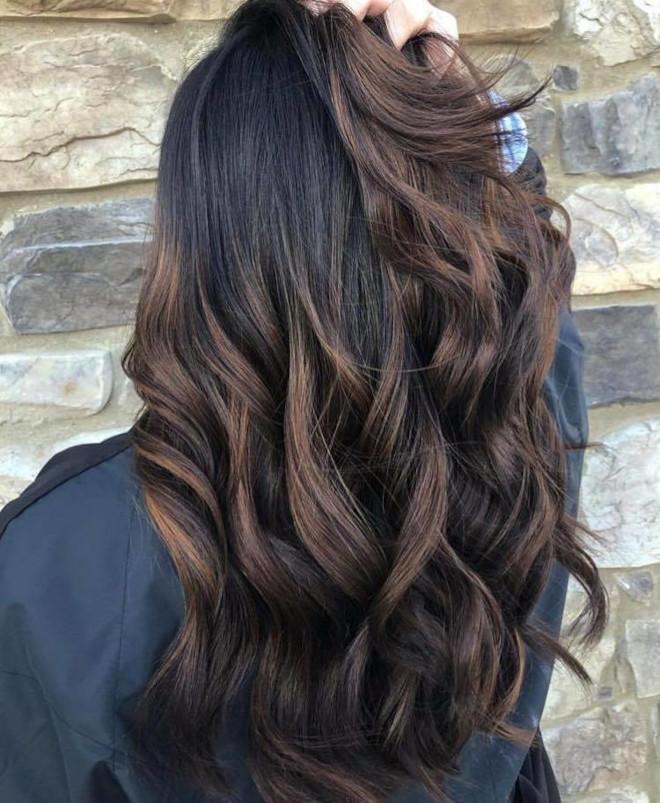 black espresso hair color trend 7