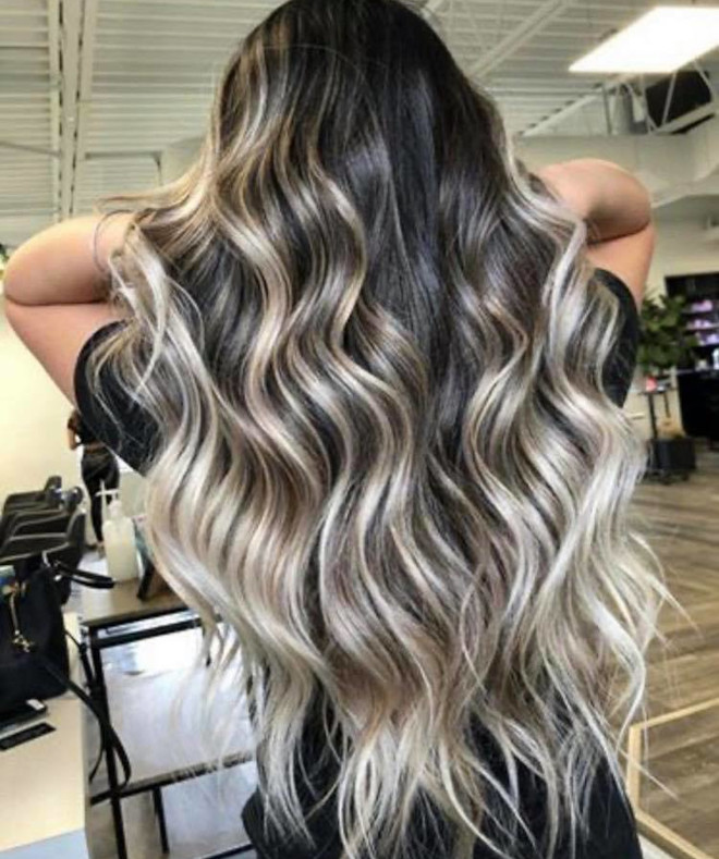 chocolate almond hair color trend 5