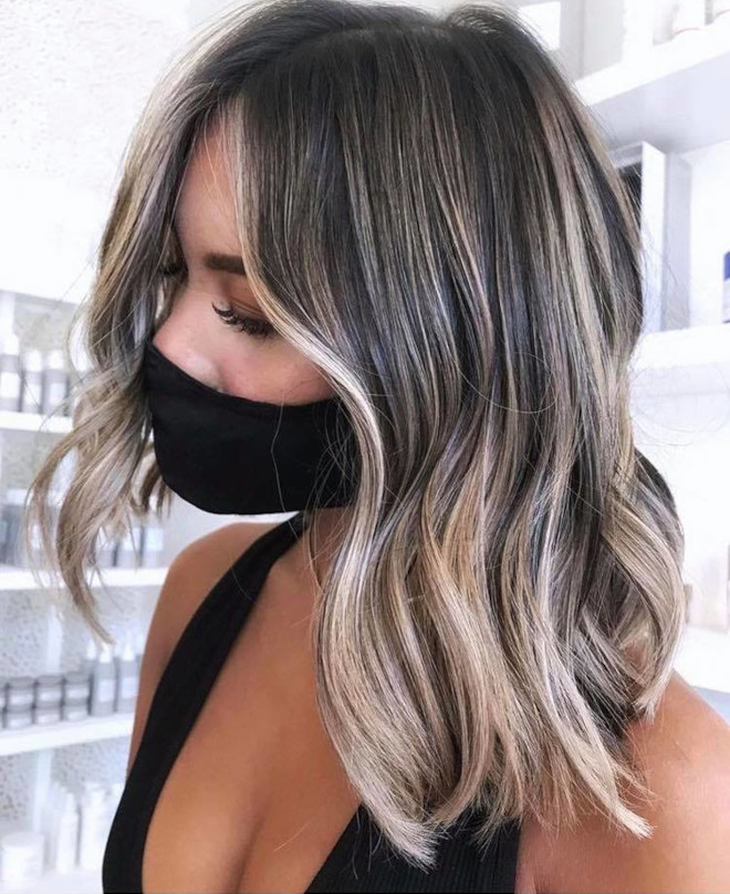 chocolate almond hair color trend 6