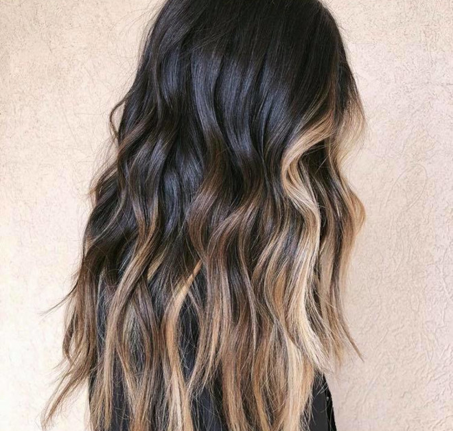 chocolate almond hair color trend 8