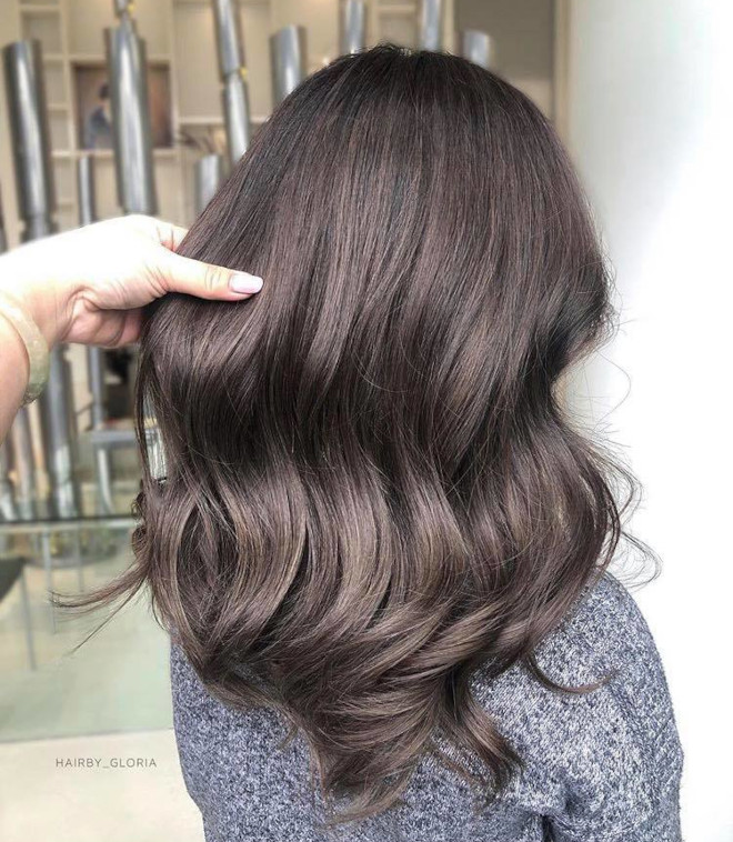 cool toned hair color ideas for fall 5