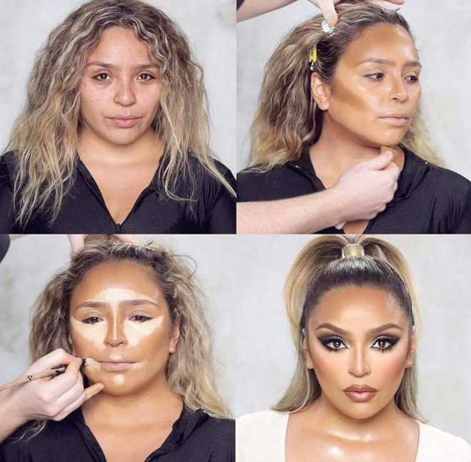 mind-blowing beauty transformations that show the massive power of makeup 1