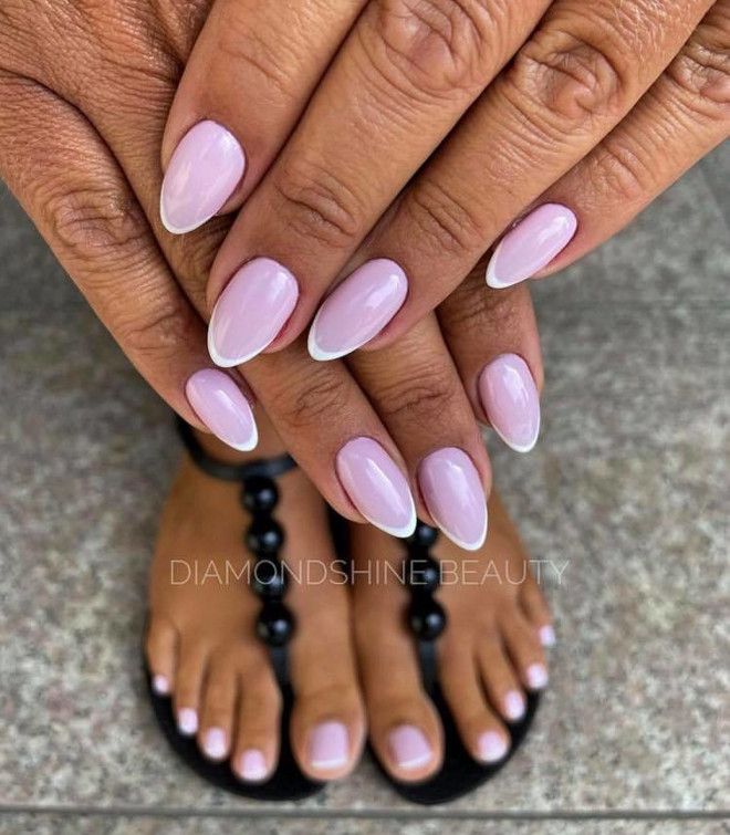 modern french manicure ideas 10