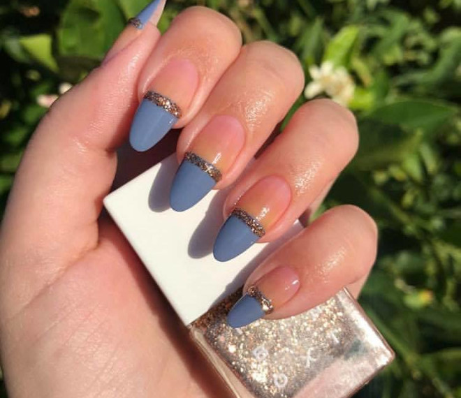 modern french manicure ideas 3