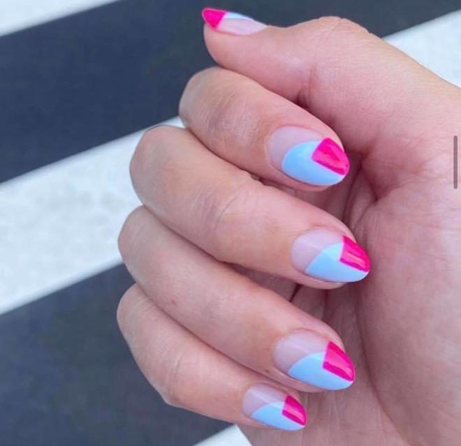 modern french manicure ideas 4