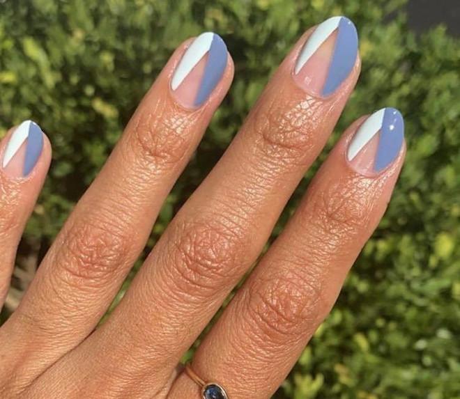 modern french manicure ideas 5