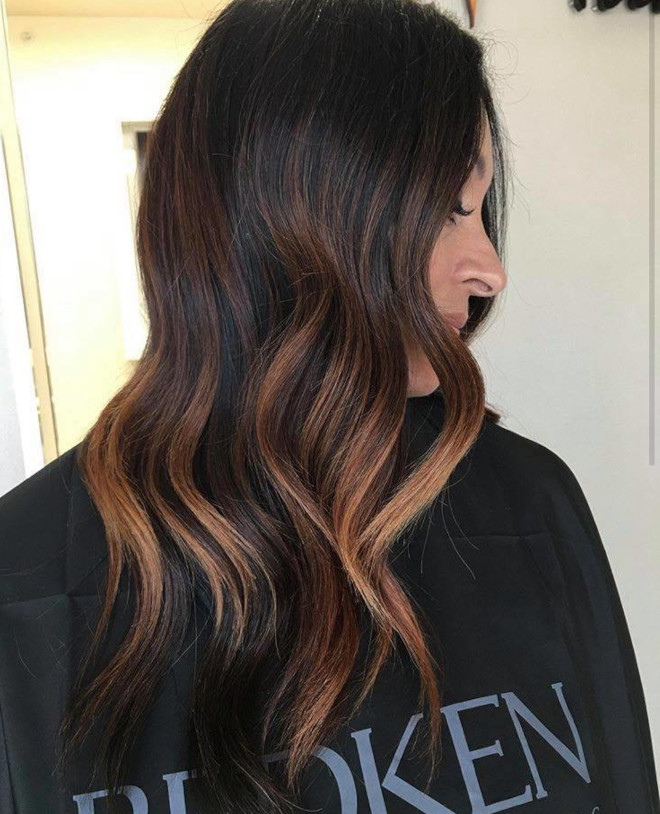 dirty brunette hair color trend for fall 4