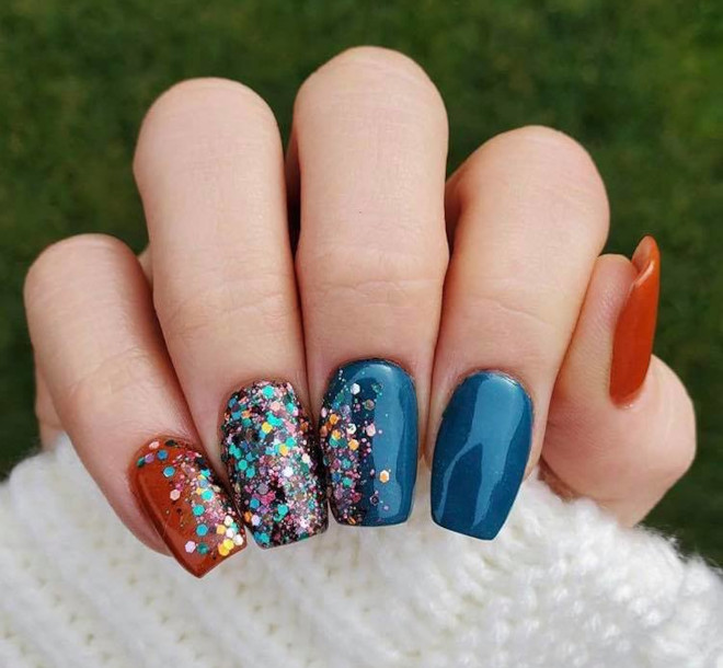 easy fall nail designs to recreate at home 6