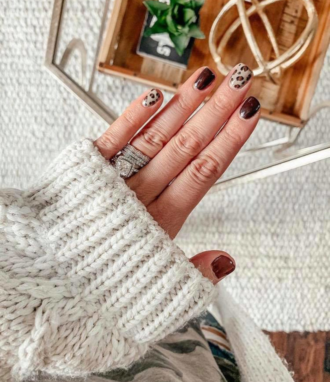 easy fall nail designs to recreate at home 9