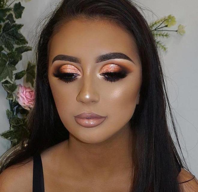 fall orange makeup looks to match your pumpkin spice latte 3