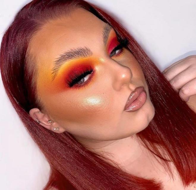 fall orange makeup looks to match your pumpkin spice latte 4