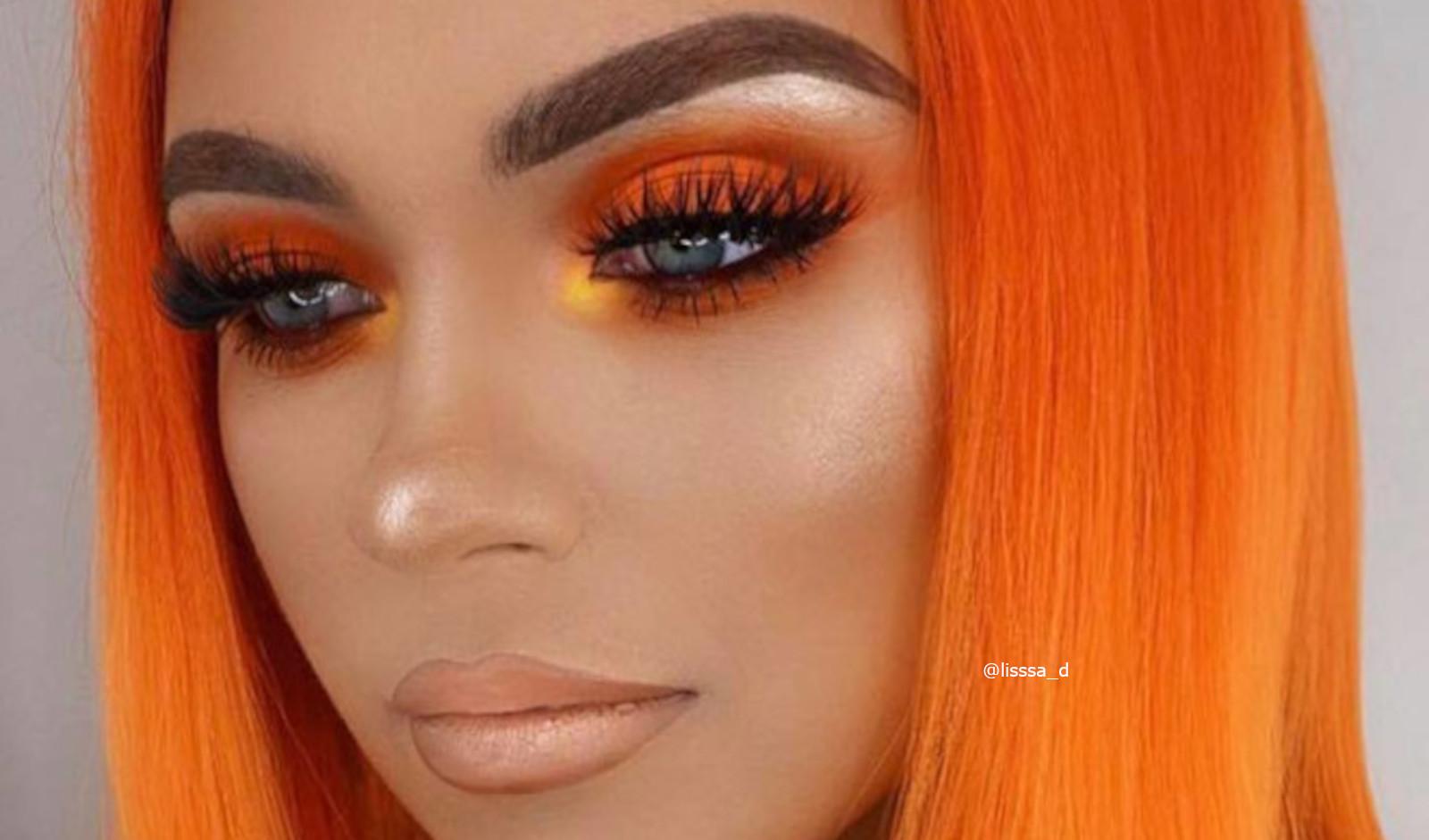 Fall Orange Makeup Looks To Match Your Pumpkin Spice Latte