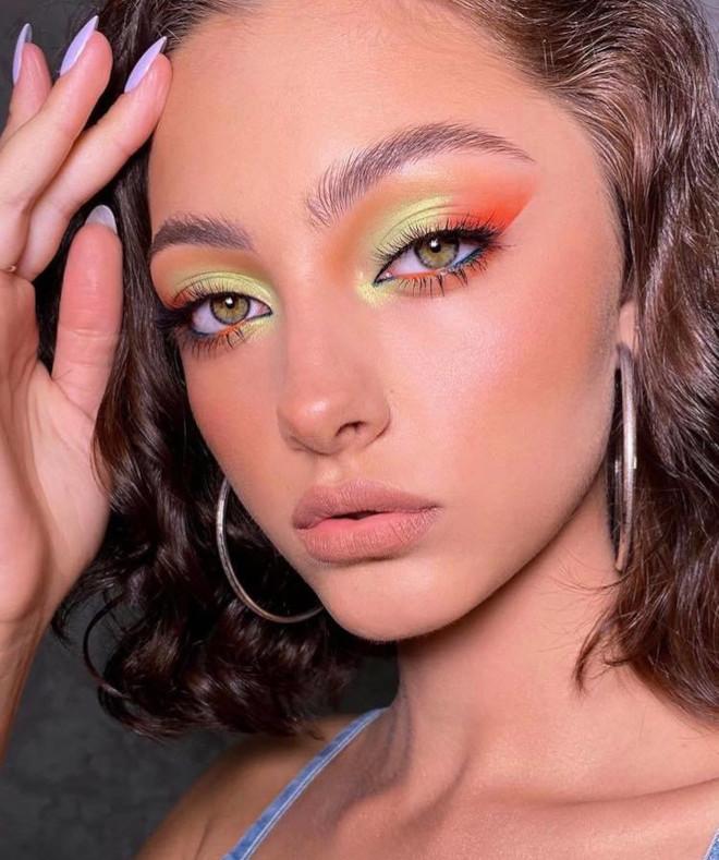 fall pastel makeup looks 1