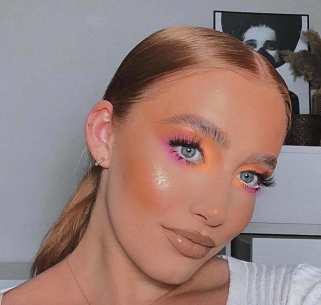 fall pastel makeup looks