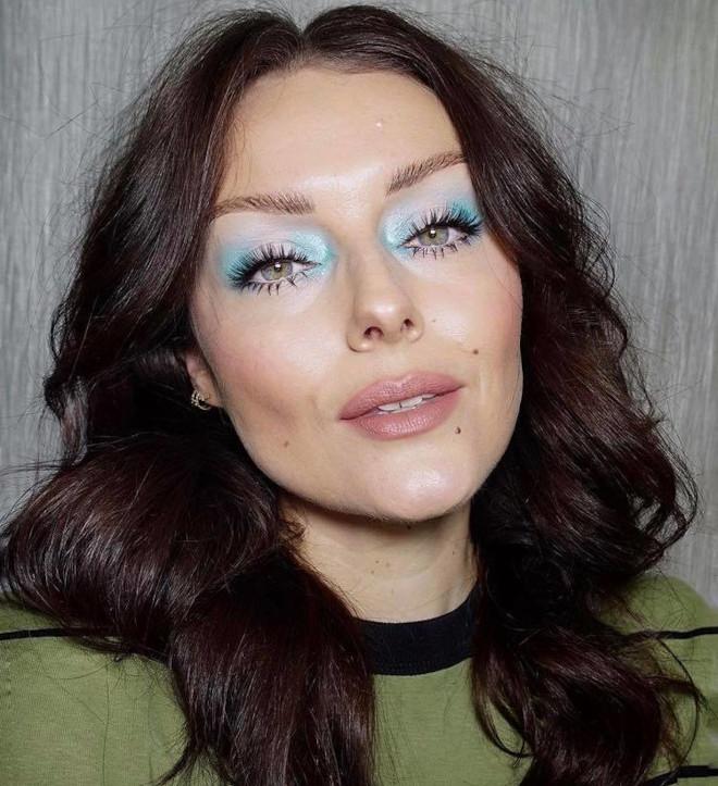 fall pastel makeup looks 4