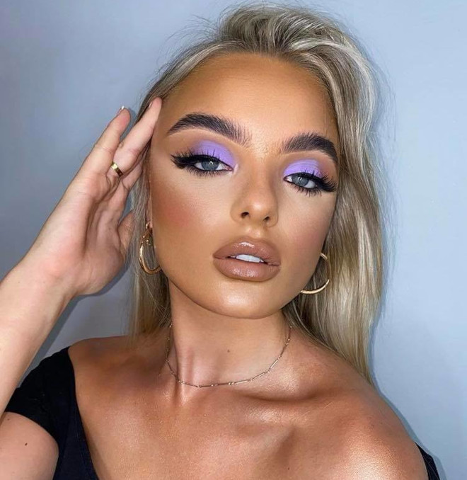 fall pastel makeup looks 8