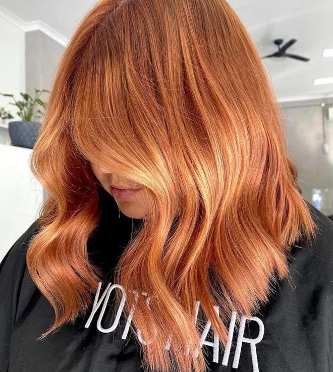 gingerbread caramel hair color is the comeback trend for fall 5