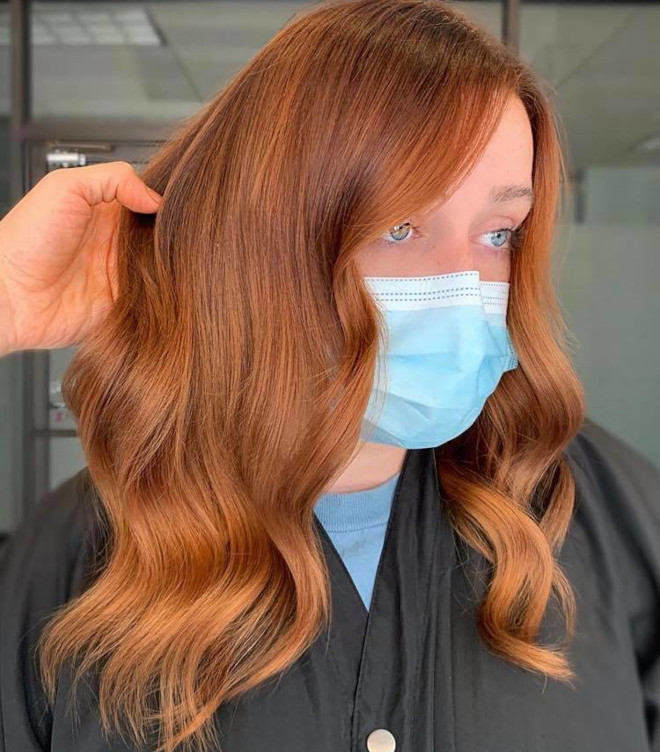 gingerbread caramel hair color is the comeback trend for fall 8