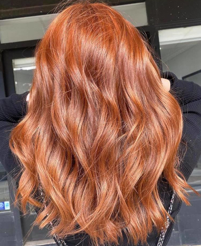 gingerbread caramel hair color is the comeback trend for fall 9