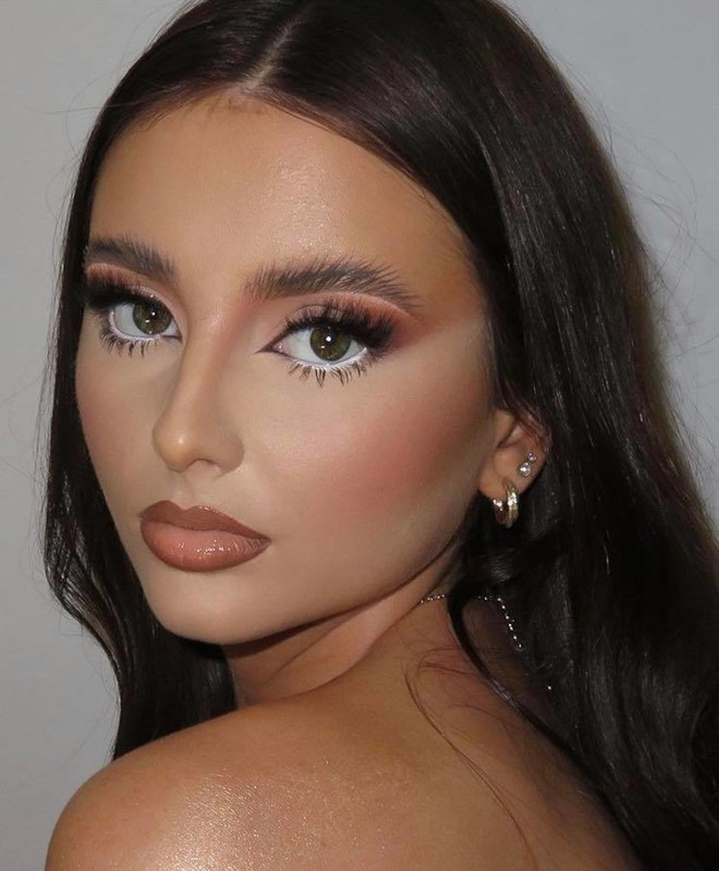 sexy fall makeup looks 4