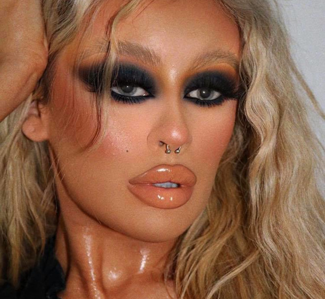 sexy fall makeup looks 6