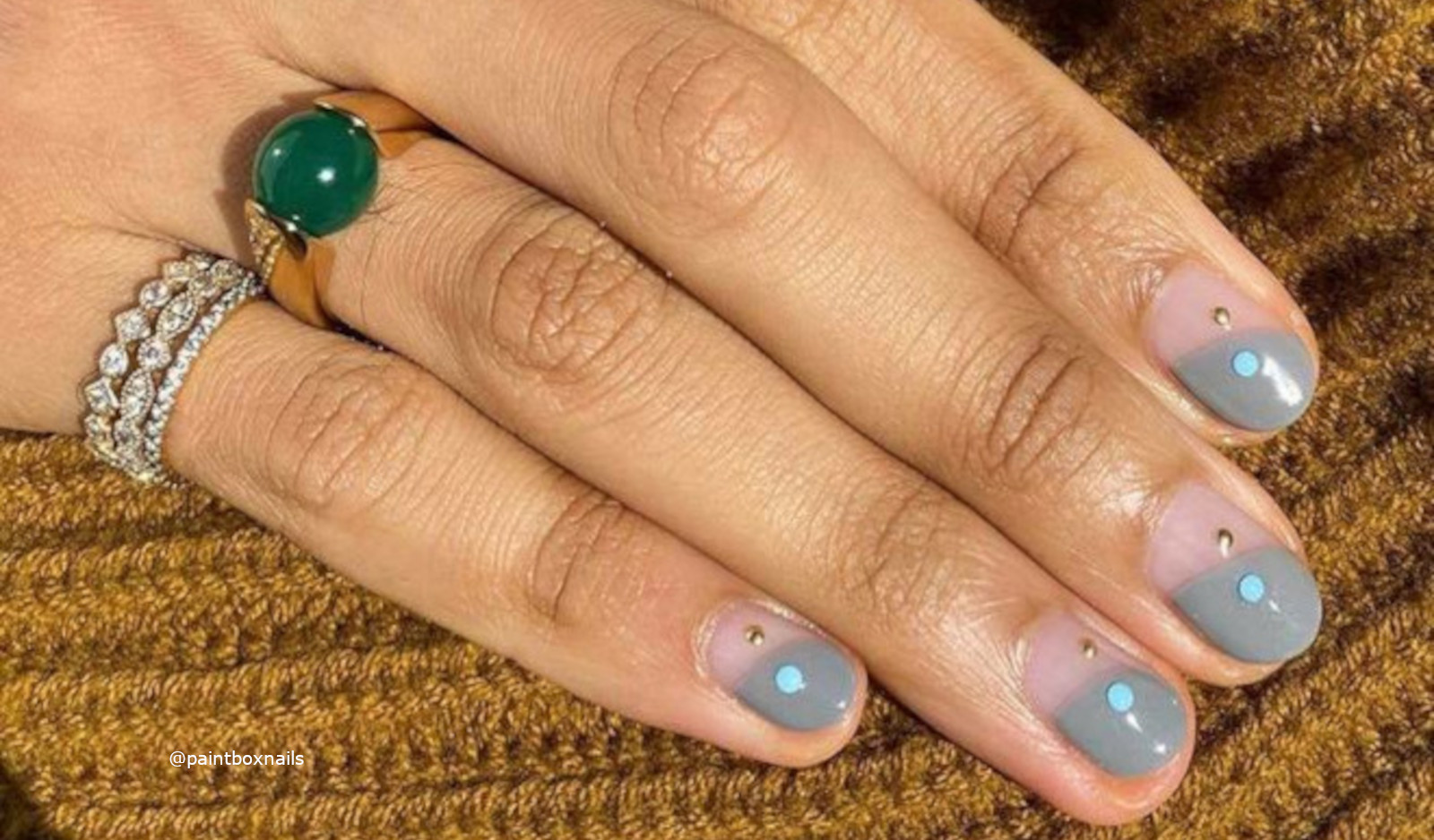 Short French Manicure Ideas For Fall