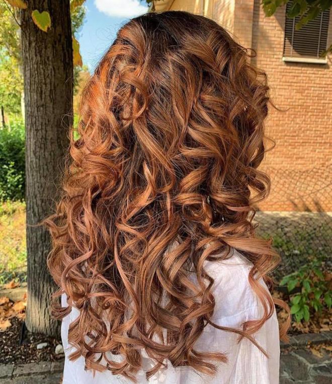 cinnamon balayage hair color trend 5
