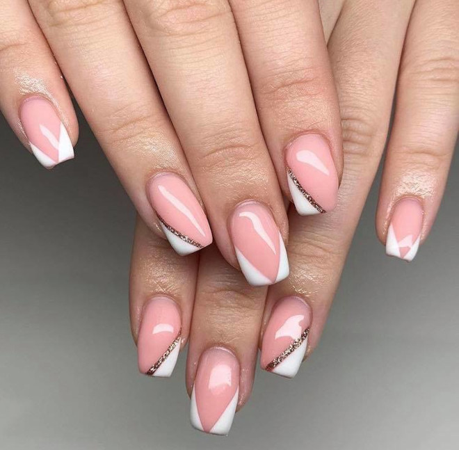 easy french manicure ideas you can diy 7