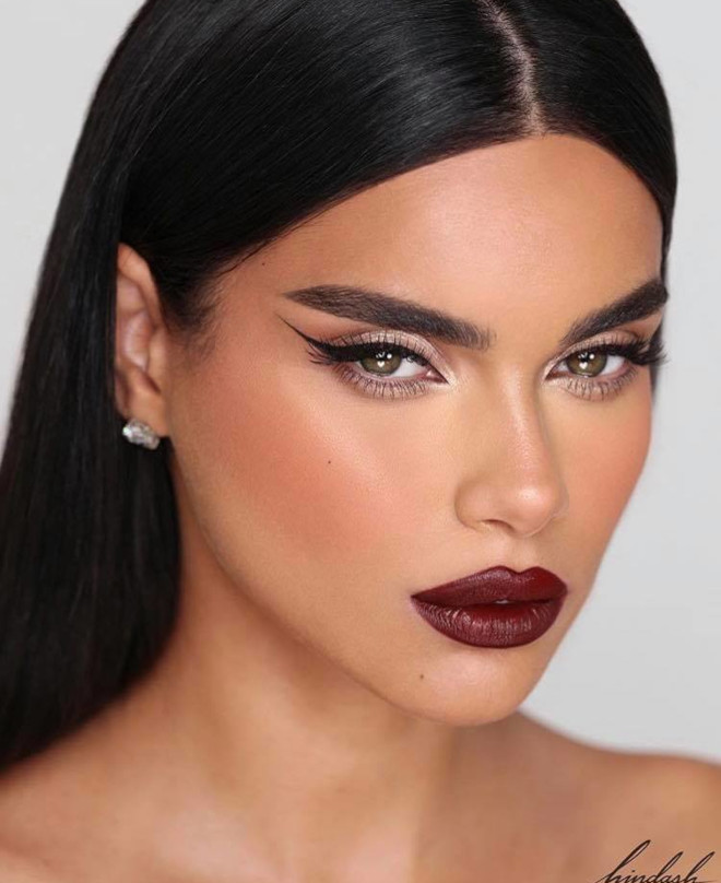 reinvent your classic glam with bold lips this fall