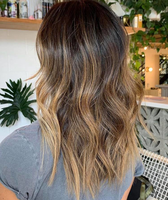 sunkissed brunette is the perfect hair color solution in case of second lockdown 5