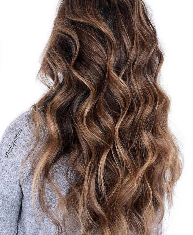 sunkissed brunette is the perfect hair color solution in case of second lockdown 7