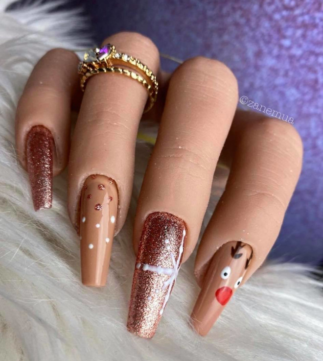 easy holiday nails 4