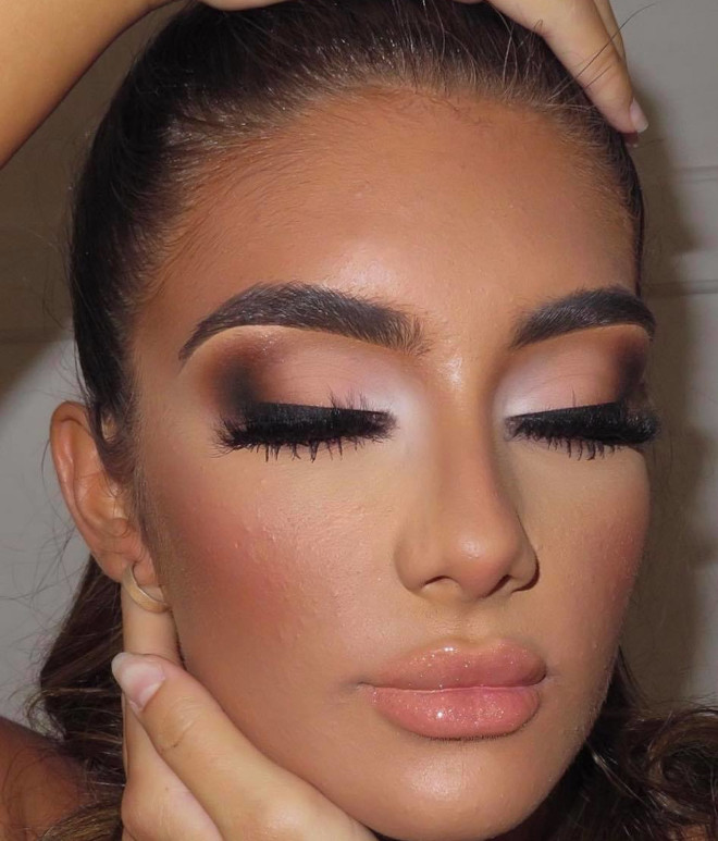 neutral holiday makeup looks 2