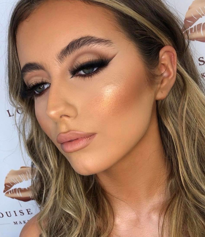 neutral holiday makeup looks 5