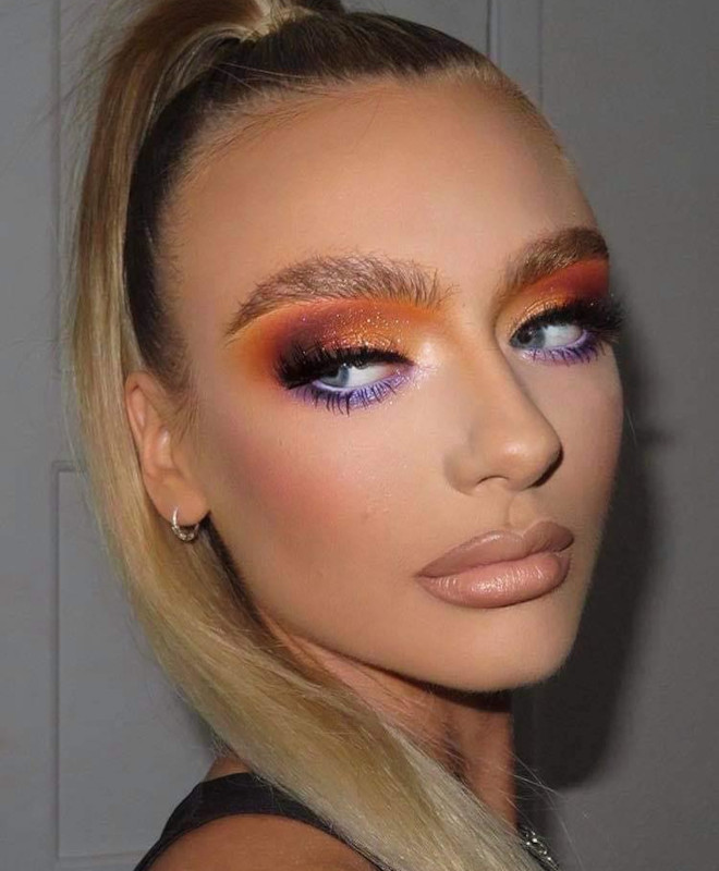 sexy holiday makeup looks