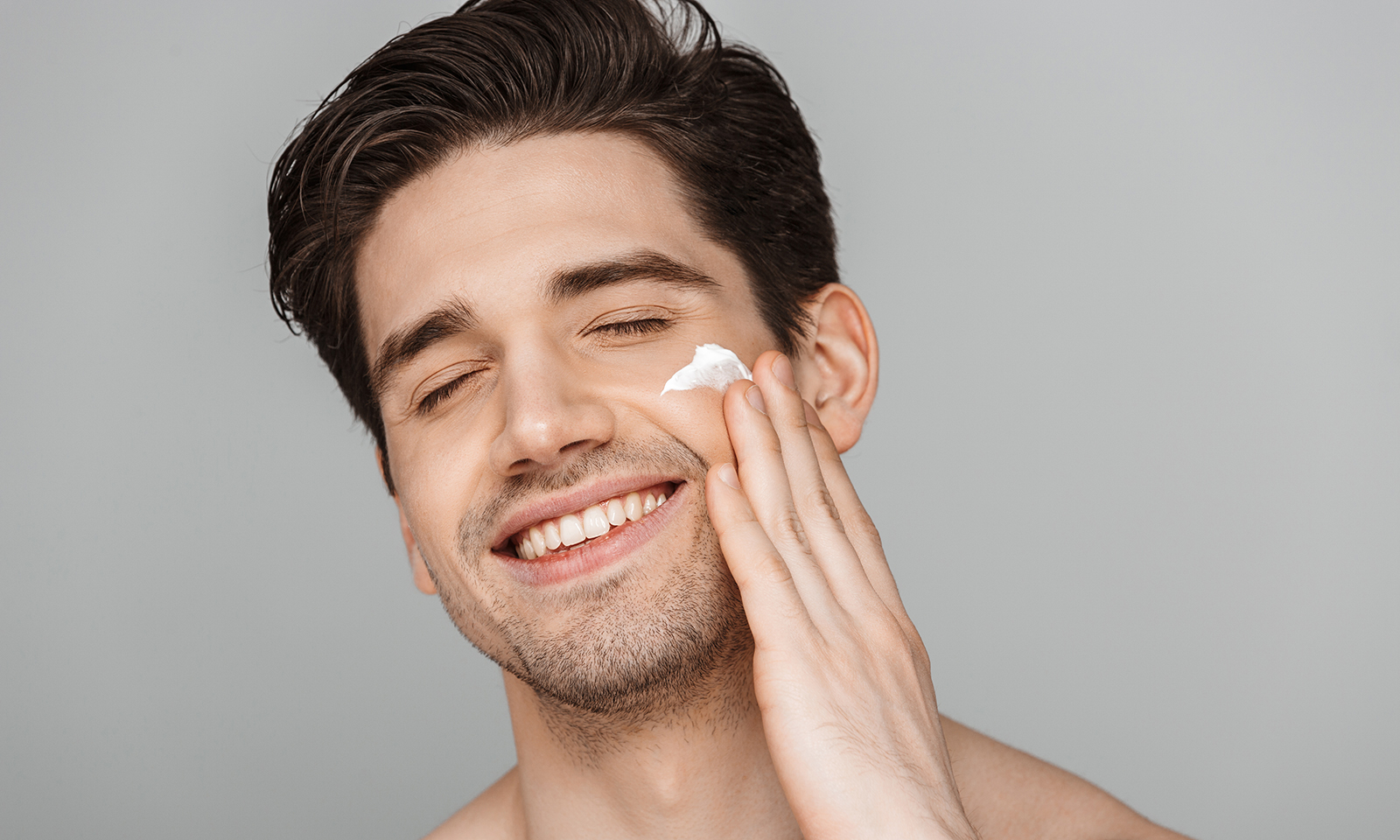 affordable prices-luxury-skincare-man-applying-skincare-on-face
